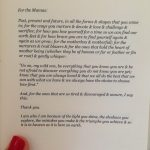 Mother's Day Words FORM yoga