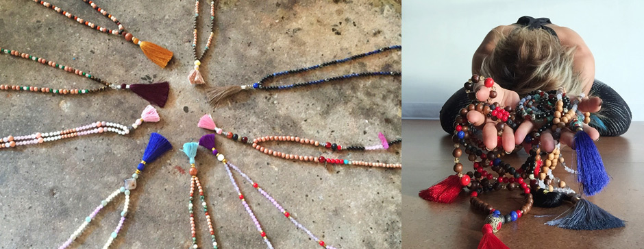 An Afternoon of Mala Making