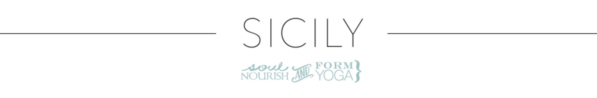 Sicily Retreat with FORM yoga and Soul Nourish