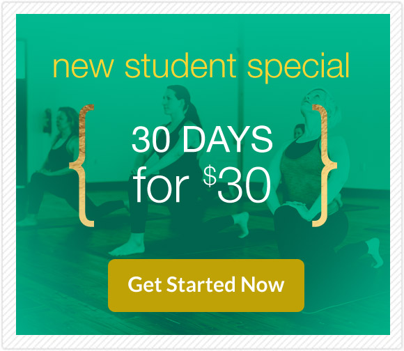 New Yoga Student Special