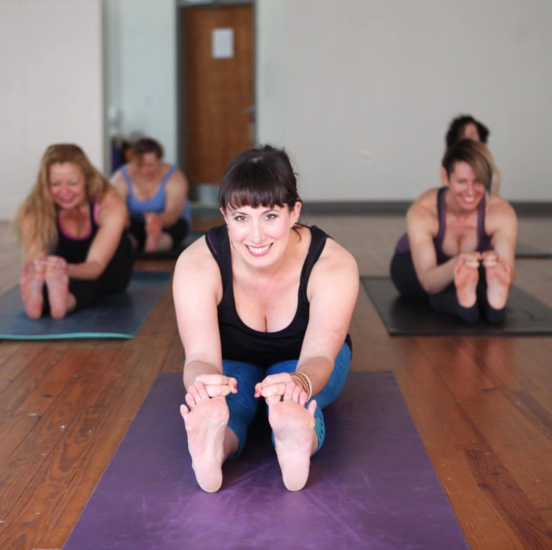 Happy Hour Express FORM yoga class
