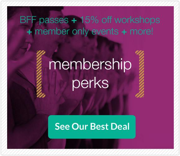 FORM yoga Membership Perks