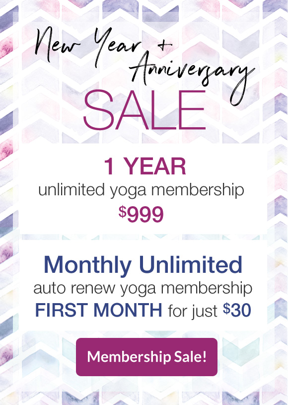 Yoga Membership Sale Atlanta Decatur