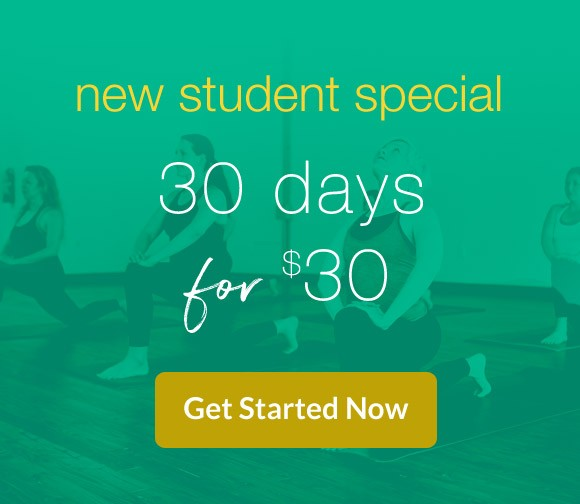 new student yoga special Atlanta Decatur
