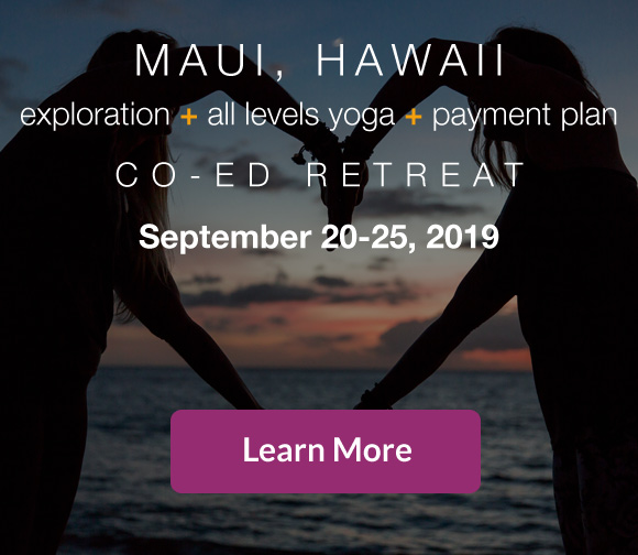 Maui Hawaii yoga beach retreat 2019
