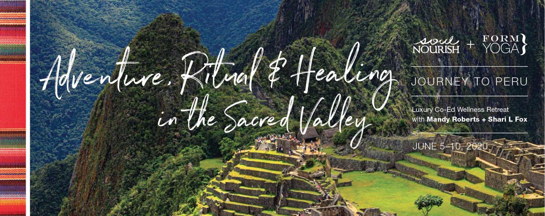 peru retreat yoga co-ed sacred valley Soul Nourish adventure healing ritual