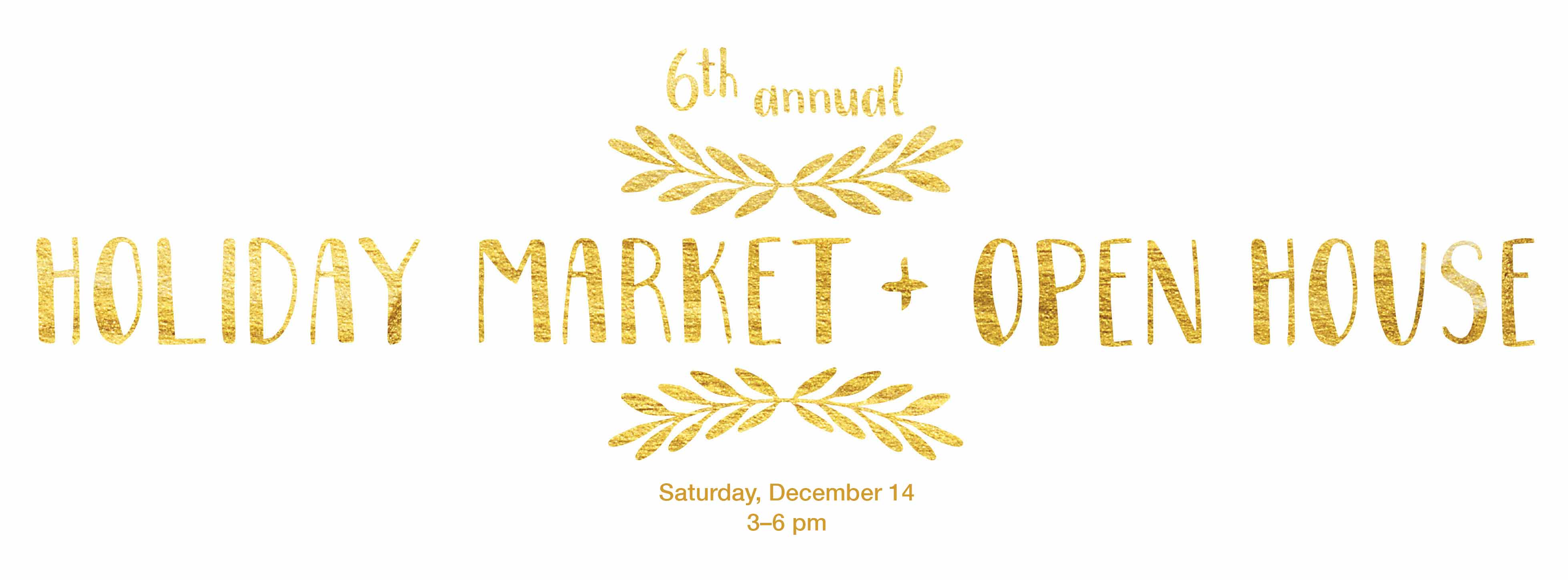 6th annual open house FORM yoga Decatur holiday market