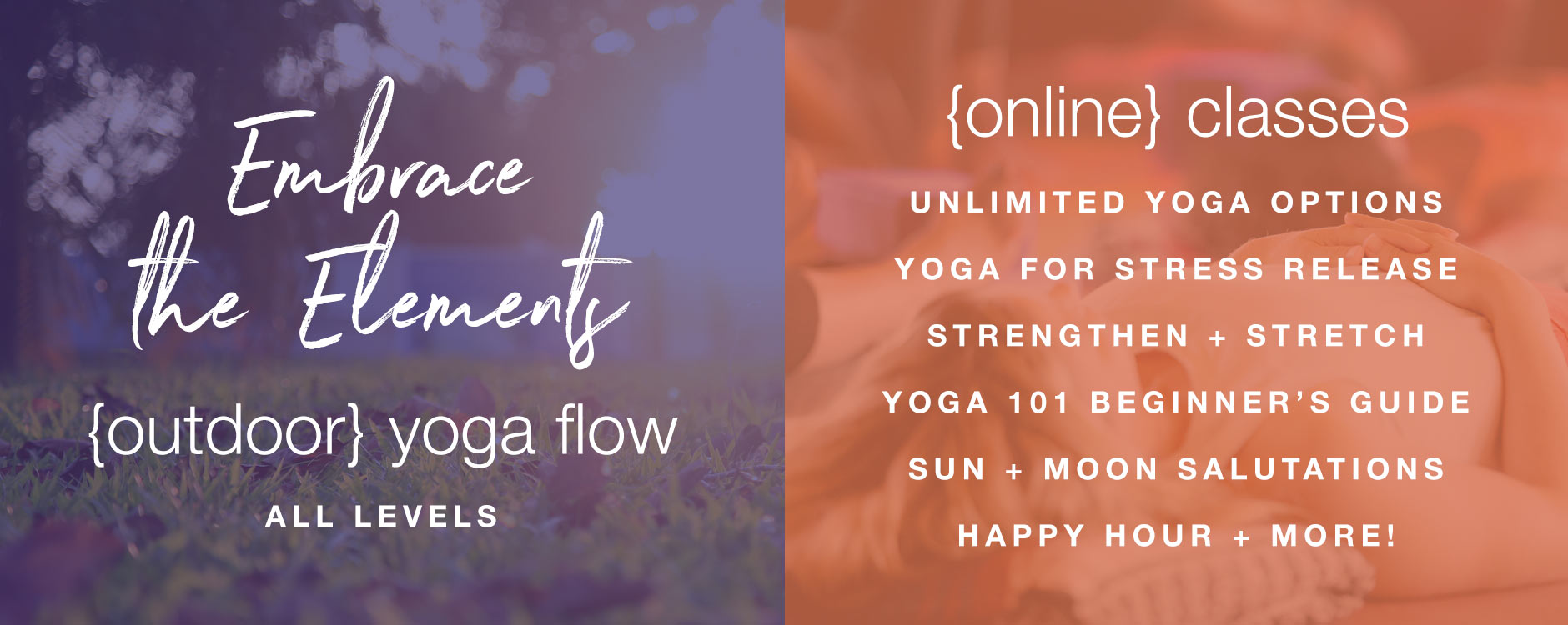 FORM yoga Decatur outdoor yoga online classes