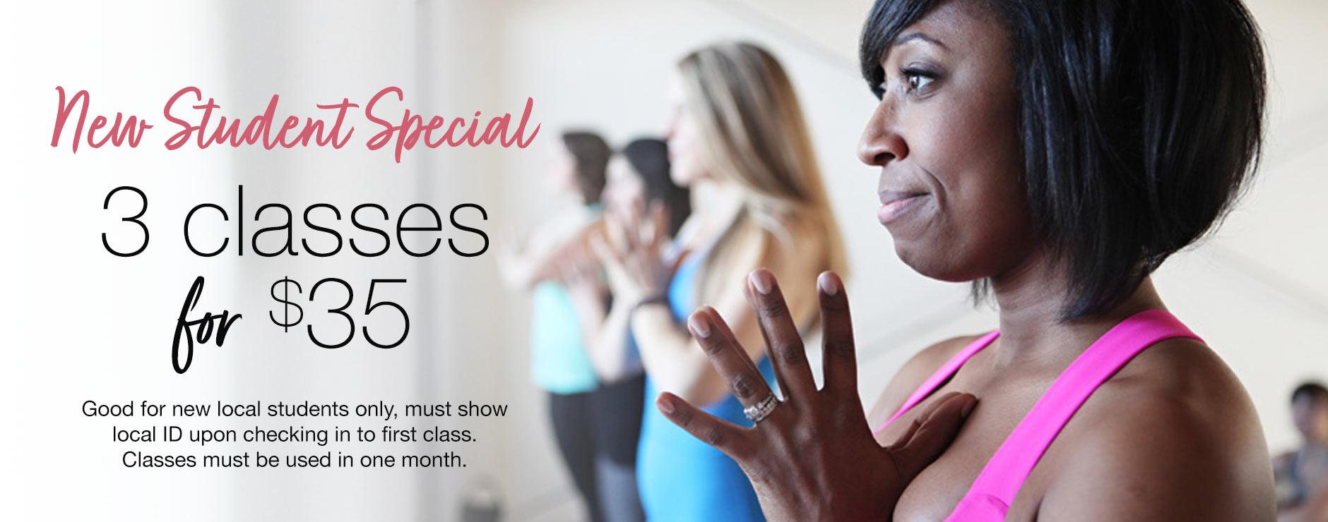 new student special form yoga Decatur Atlanta outdoor online yoga