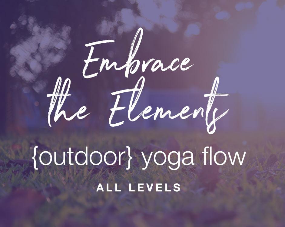 outdoor yoga classes FORM yoga Decatur Atlanta