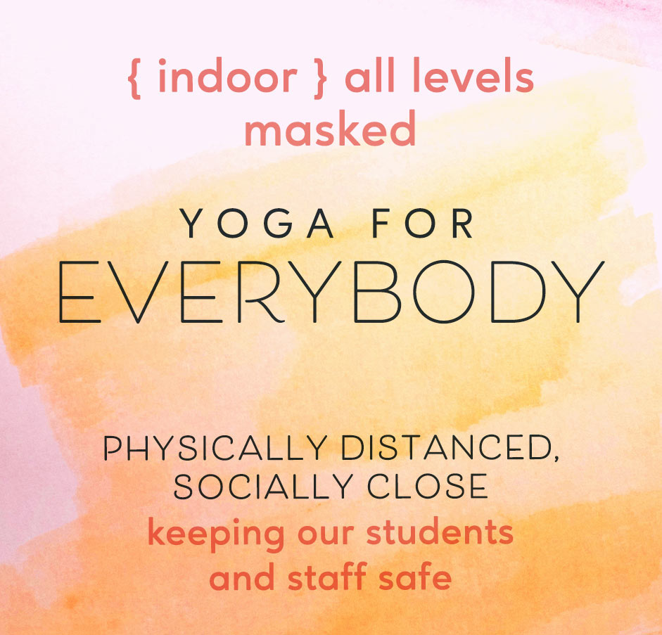 yoga Decatur Atlanta indoor masked all levels
