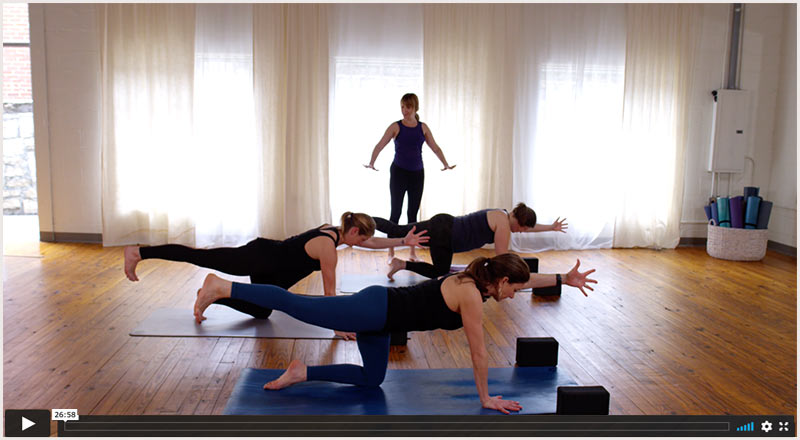 slow and steady yoga online yoga Mandy Roberts