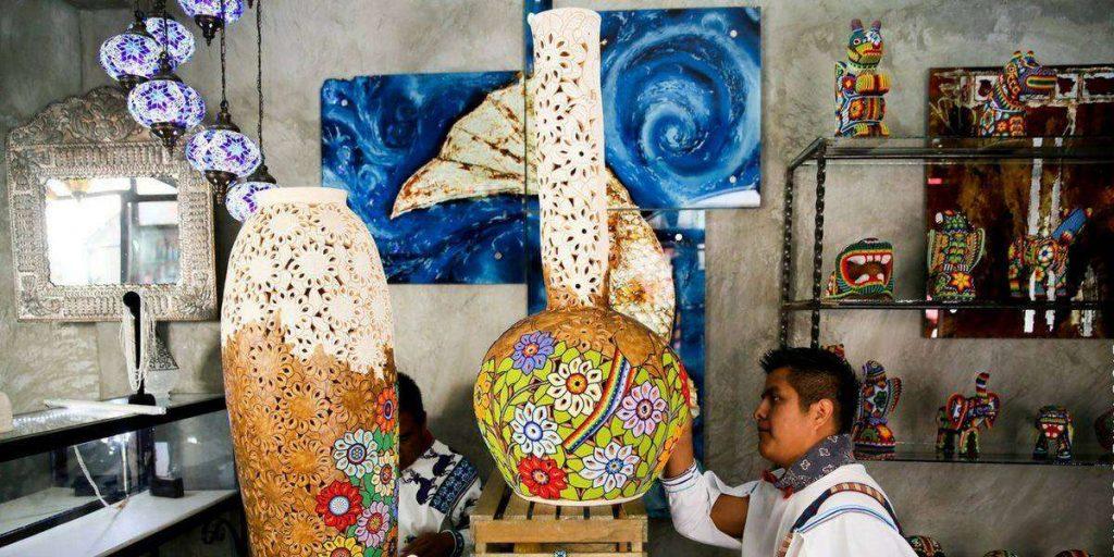 Todos Santos retreat pottery