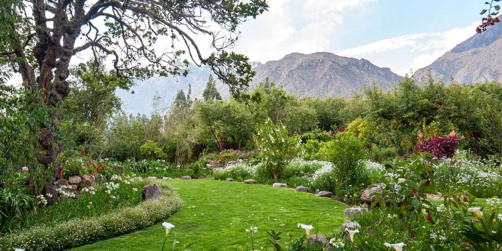 nature peru sacred valley chakra energy garden